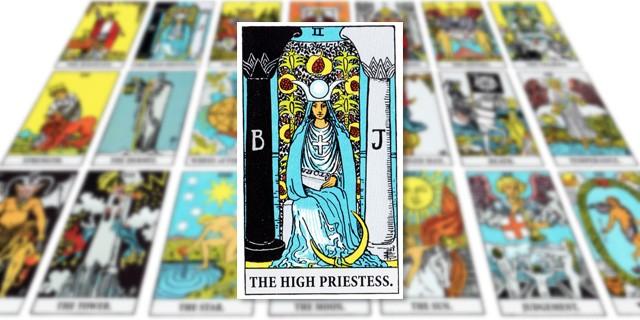 タロットカード「The High Priestess(女教皇)」の意味